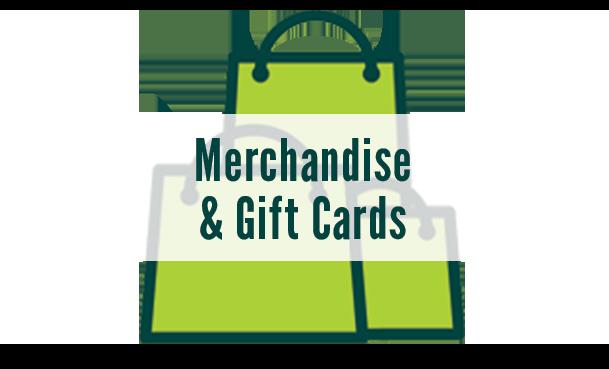Merchandise & Gift Cards