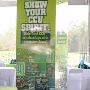 CCU Pavilion Signage