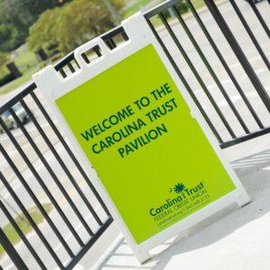 CCU Pavilion Sign
