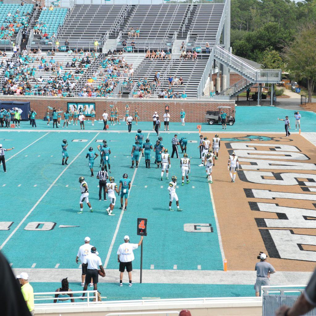 CCU Pavilion Football Field