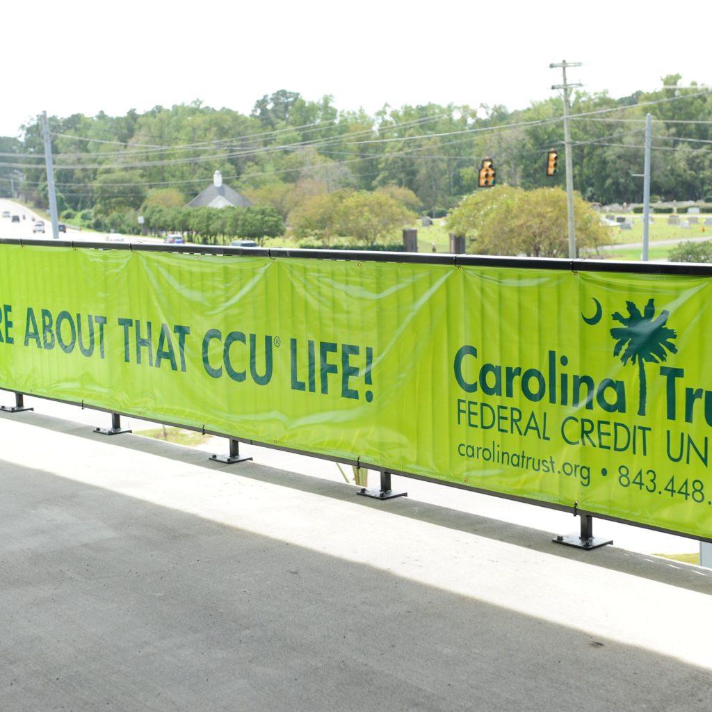 CCU Pavilion Banner