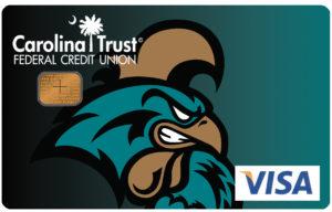 CCU Athletics Credit Card Chanticleer Design