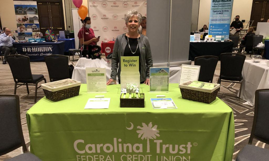 Mortgage Loan office tabling at CCAR Fall expo