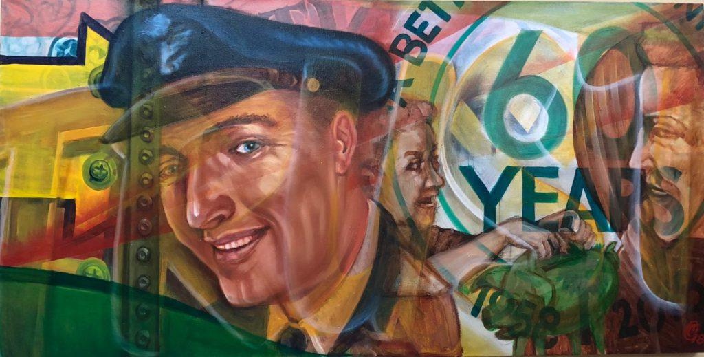 60th Anniversary Painting