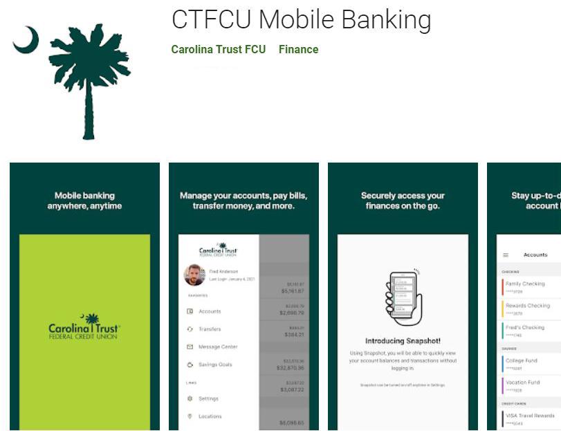 CTFCU Mobile App - Google Store